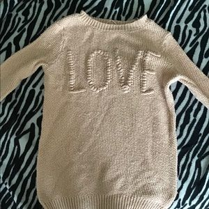 Lauren Conrad Love Sweater